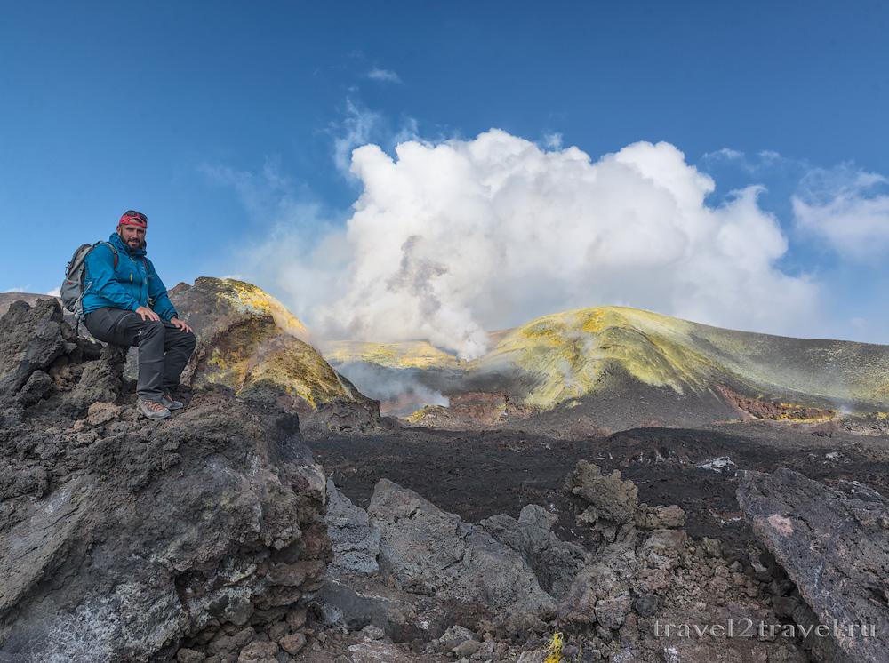 восхождение на вулкан Этна
