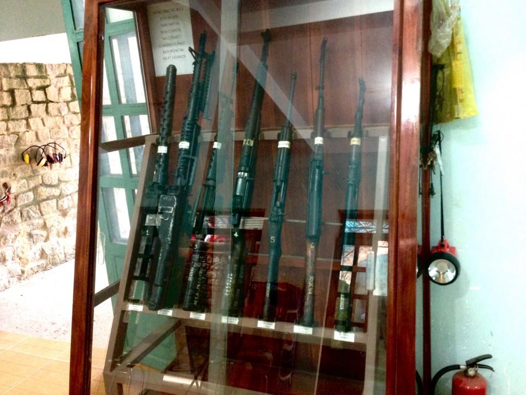 Виду оружия для стрельбы в тире тоннели Кути (Cu Chi Tunnels)