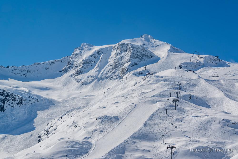 горнолыжный курорт Хинтертукс