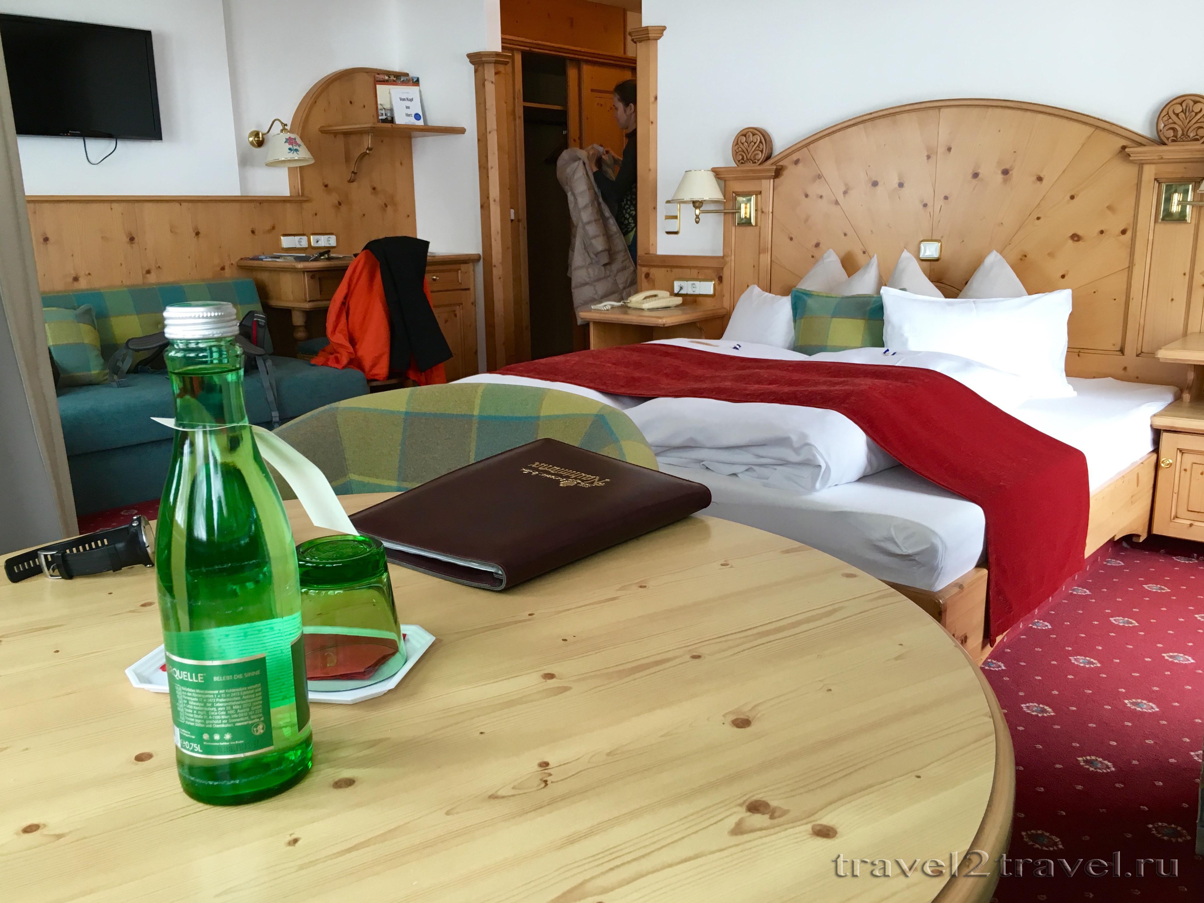 Номер отеля Gletscher & Spa Neuhintertux Hotel