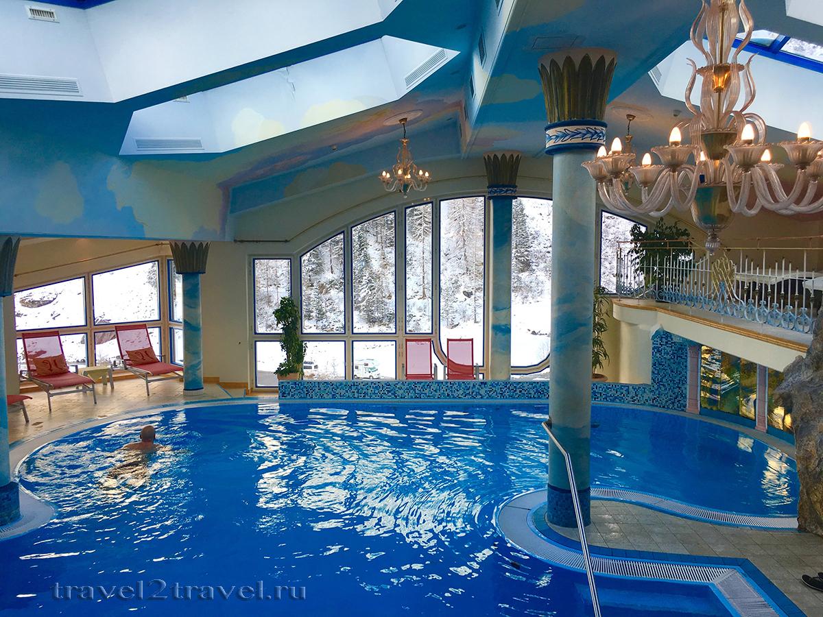 СПА в отеле Gletscher & Spa Neuhintertux