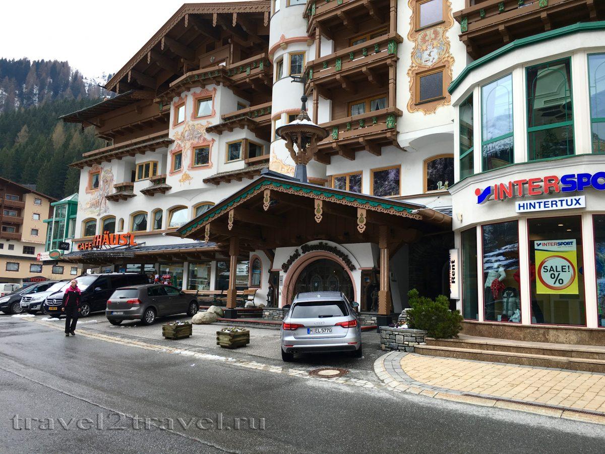 Gletscher & Spa Neuhintertux Hotel