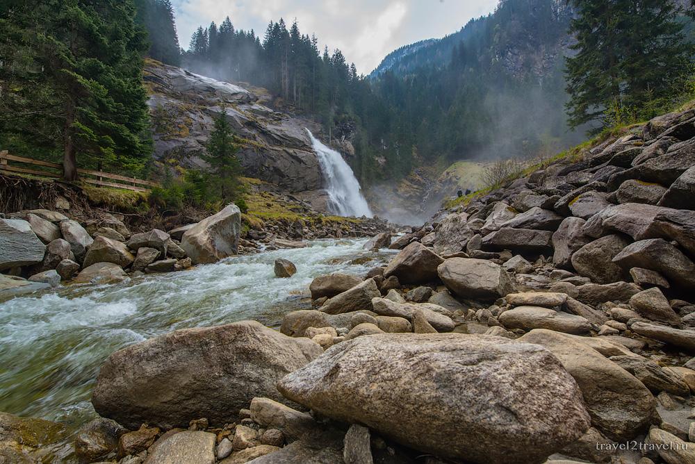Криммльский водопад