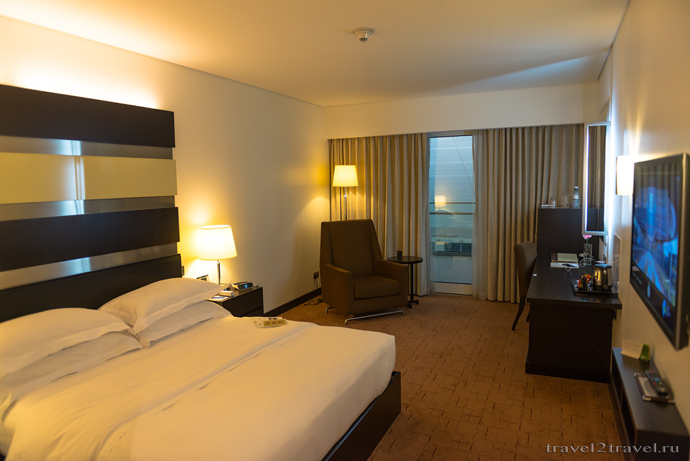 Номер Де-Люкс в Dubai International Terminal Hotel