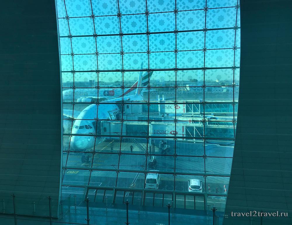 стыковка в Дубае