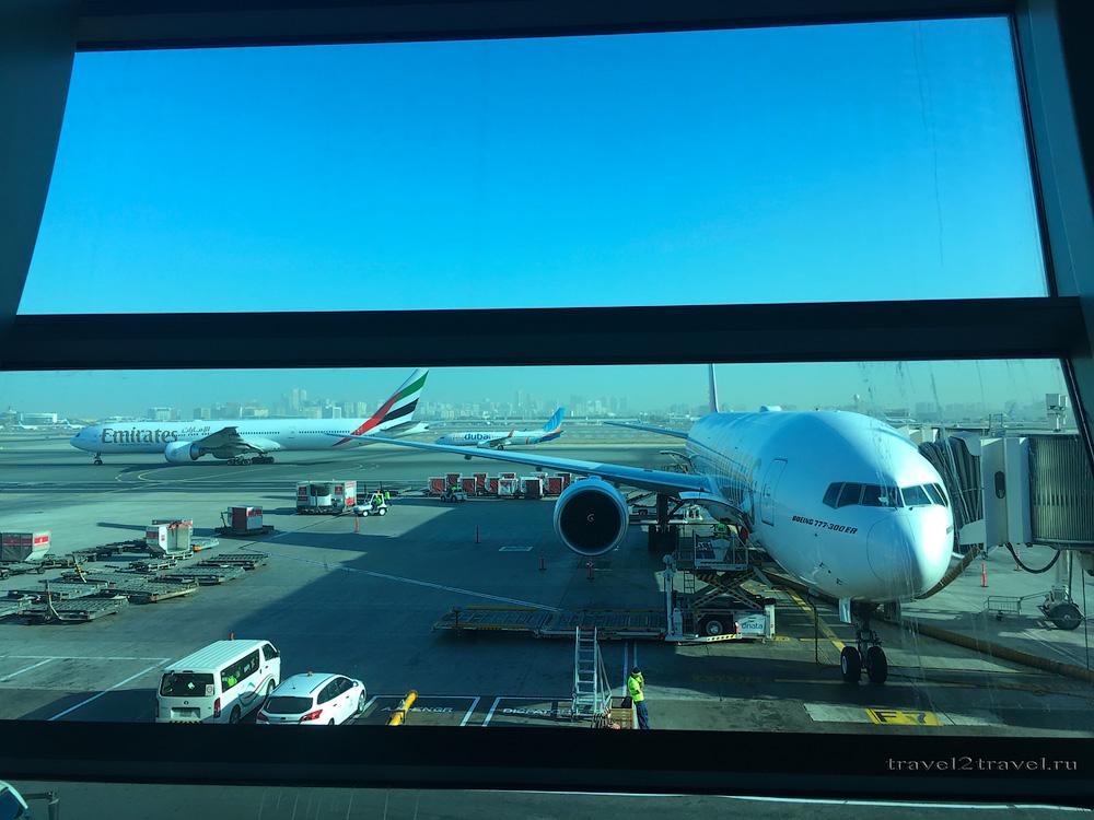 рейс Дубай-Коломбо EK-654