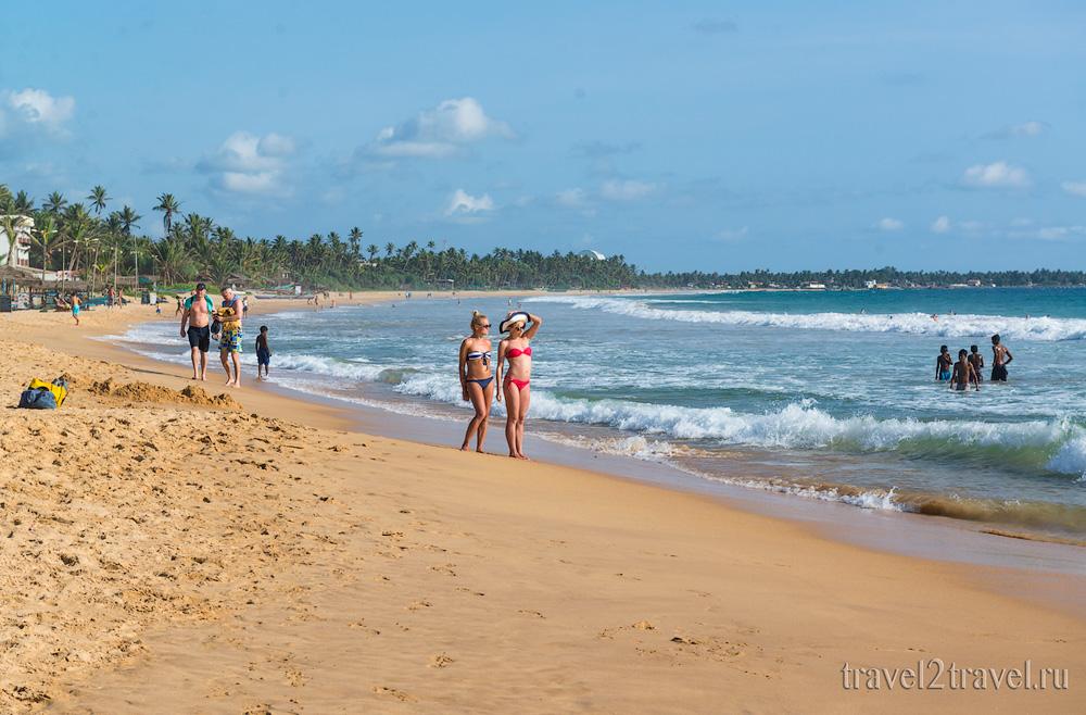 пляж Хиккадува (Hikkaduva Beach)