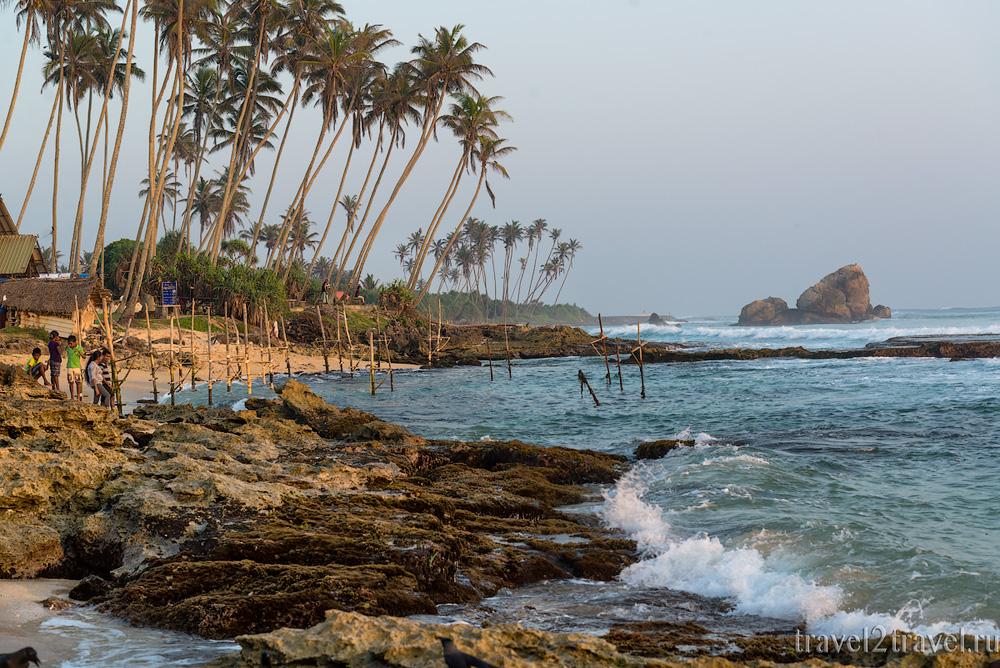 Пляж Когалла (Kogalla Beach), Шри-Ланка