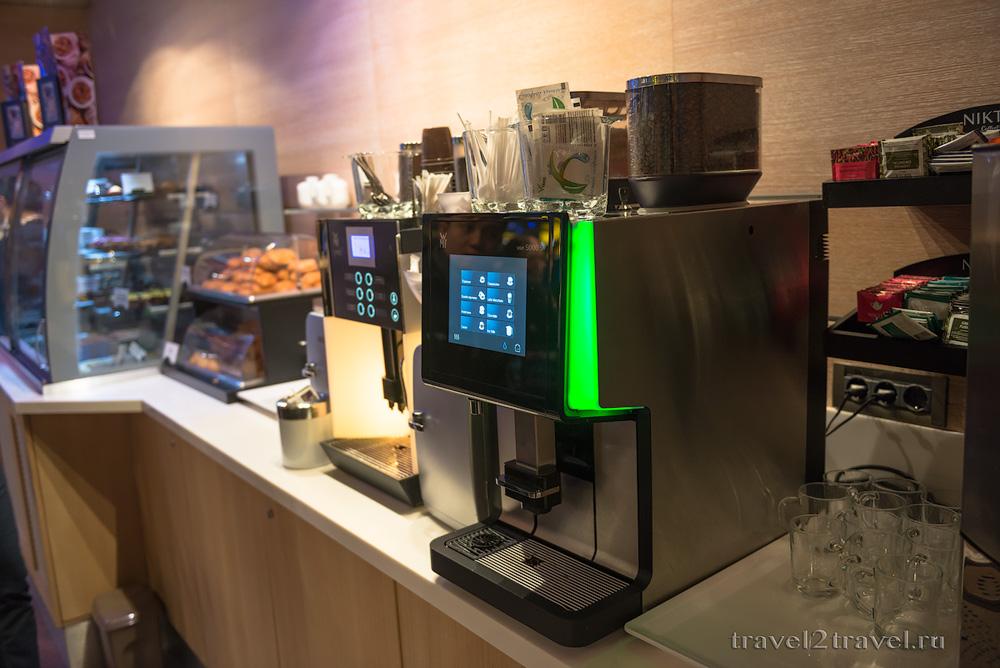 Кофе-машина в бизнес-зал Блюз (Blues) Шереметьево