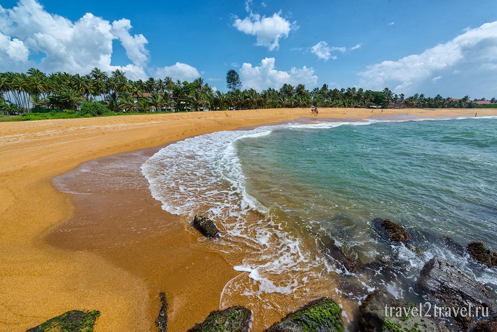пляж Калутара Шри-Ланка, Kalutara Beach Sri-Lanka