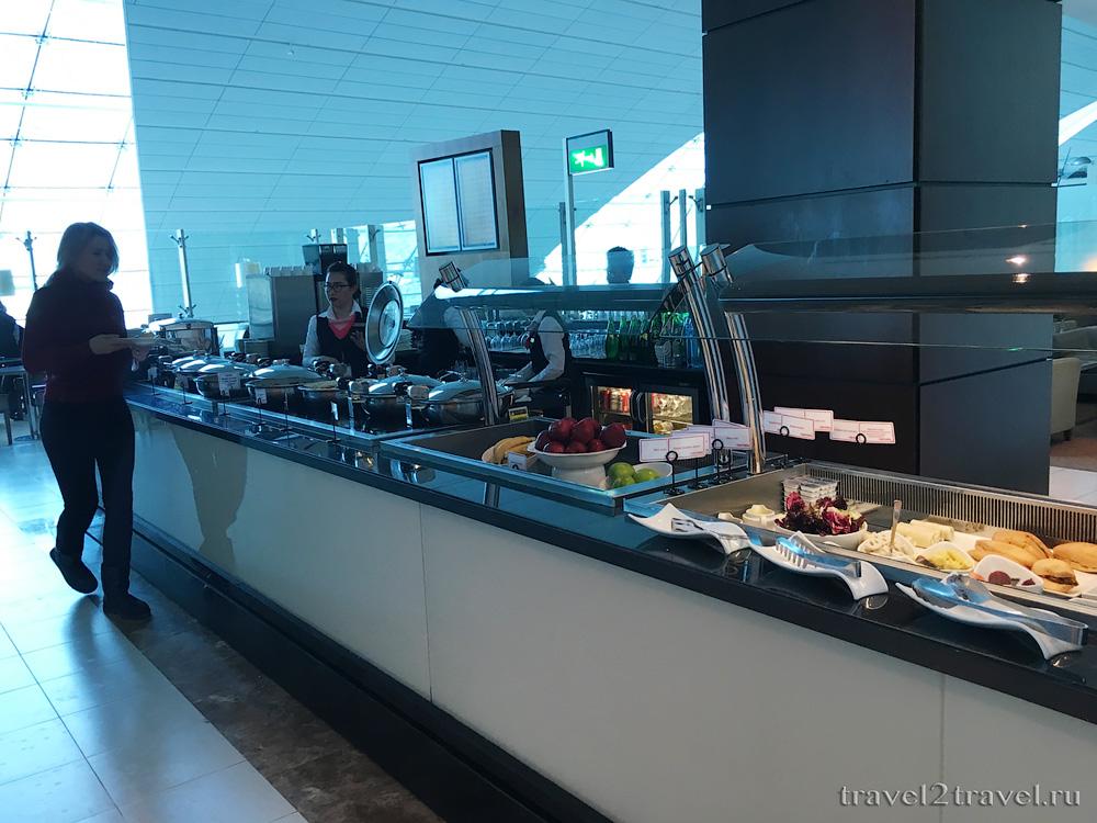 питание Marhaba Lounge Priority Pass, шведский стол, open buffet