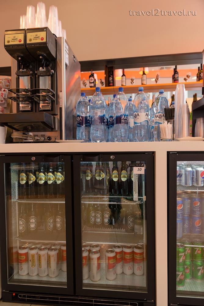 алкогольные напитки в бизнес-лаунже Галактика (Galaxy Lounge), пиво
