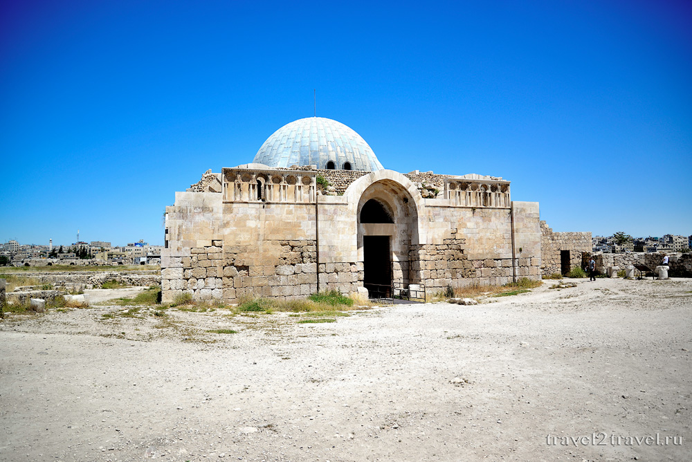дворец Омейадов Джебель-эль-Калаа