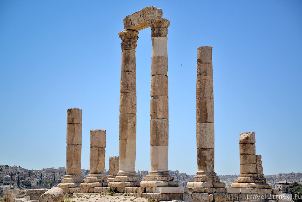 Достопримечательности Аммана: Амманская Цитадель