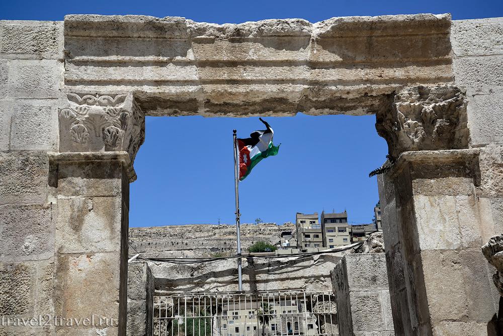 Амфитеатр Аммана вход