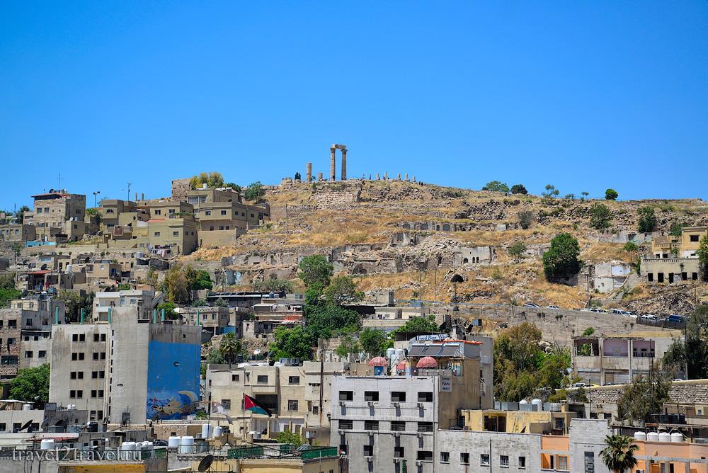 Амфитеатр Аммана вид на Цитадель
