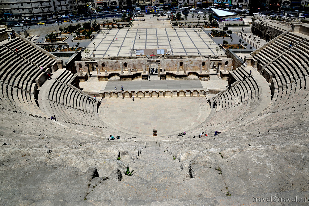Достопримечательности Аммана: Римский амфитеатр