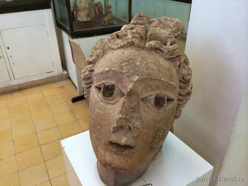 экспонат археологический музей Иордании цитадель Аммана