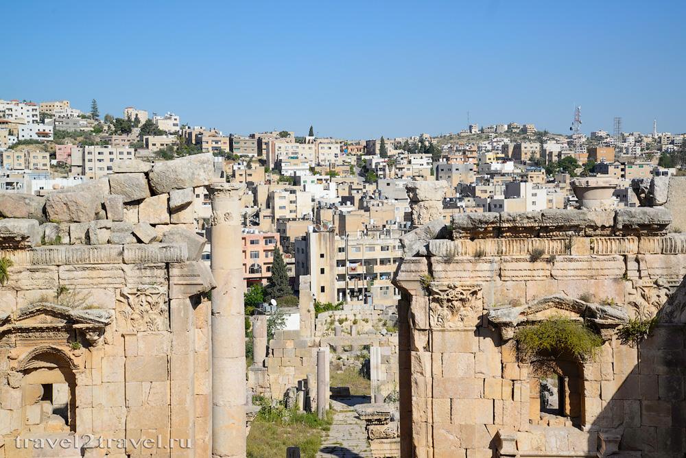 Храм Артемиды Джераш (Jerash)