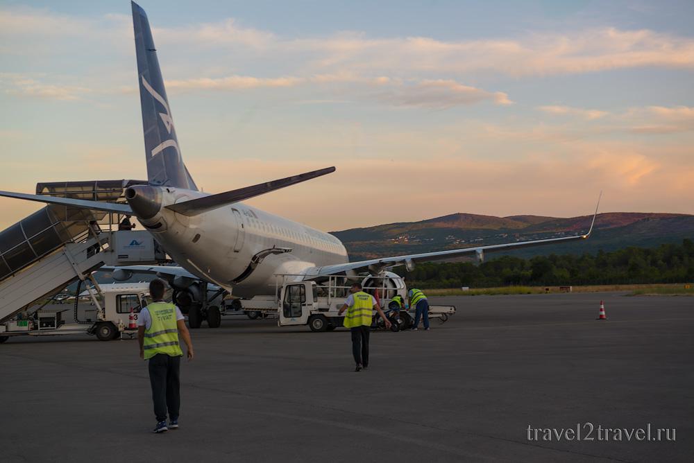 рейс YM-612 Тиват-Москва Montenegro Airlines отзыв