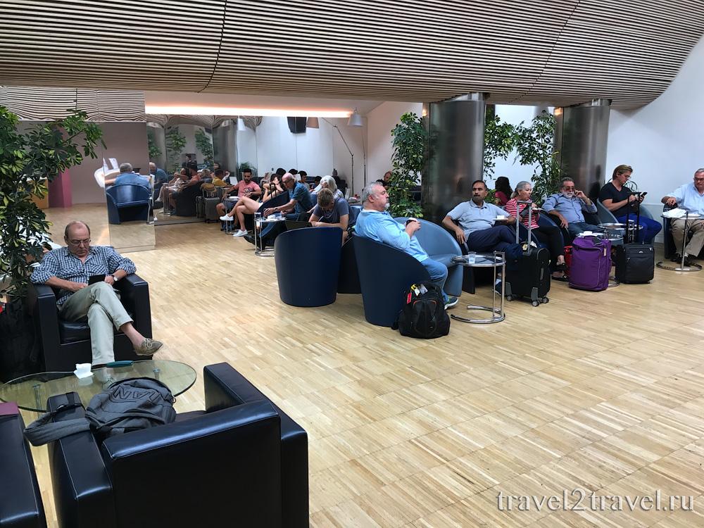 бизнес-лаунж в Неаполе VIP Caruso Priority Pass