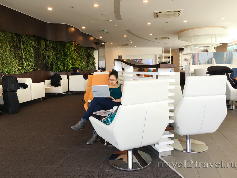 Бизнес-зал SkyTeam Lounge в Стамбуле