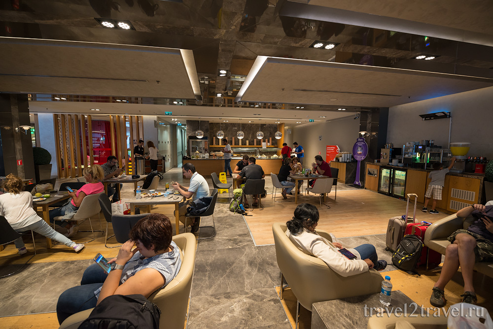 Бизнес-зал Primeclass в аэропорту Стамбула Ататюрк IST