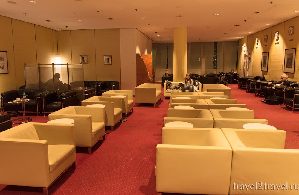 Бизнес зал в аэропорту Мюнхена фото
