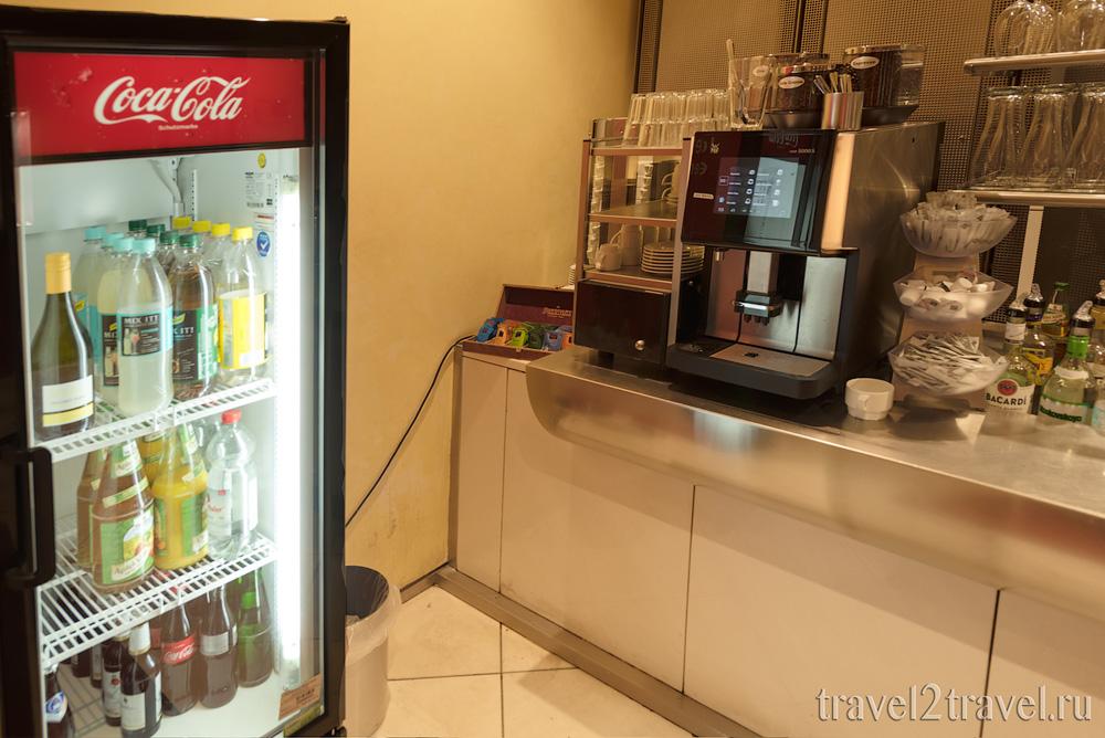 напитки в бизнес-зал в Мюхнене Atlantic Lounge