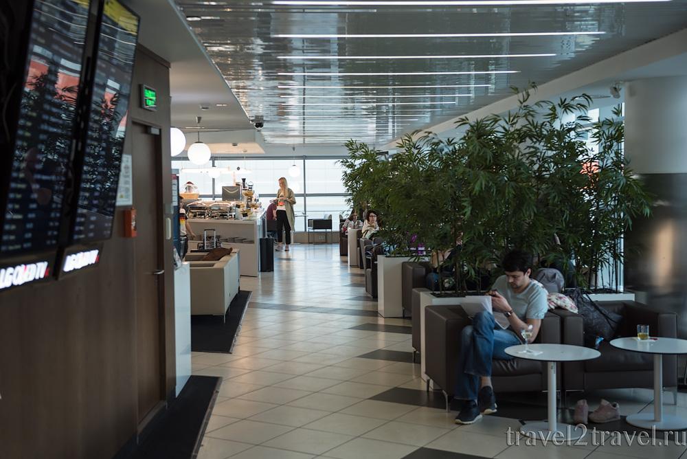 отзыв о бизнес-зале Галерея (Gallery Lounge) Шереметьево Терминал D