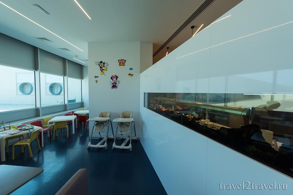 детская игровая комната, бизнес-зал в Ларнаке (Larnaca) Aspire Lounge, Кипр, лаунж, vip-зал, аэропорт