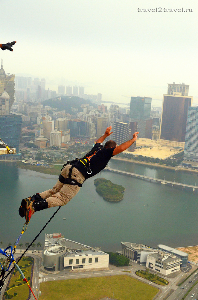 Macao bungy jumping
