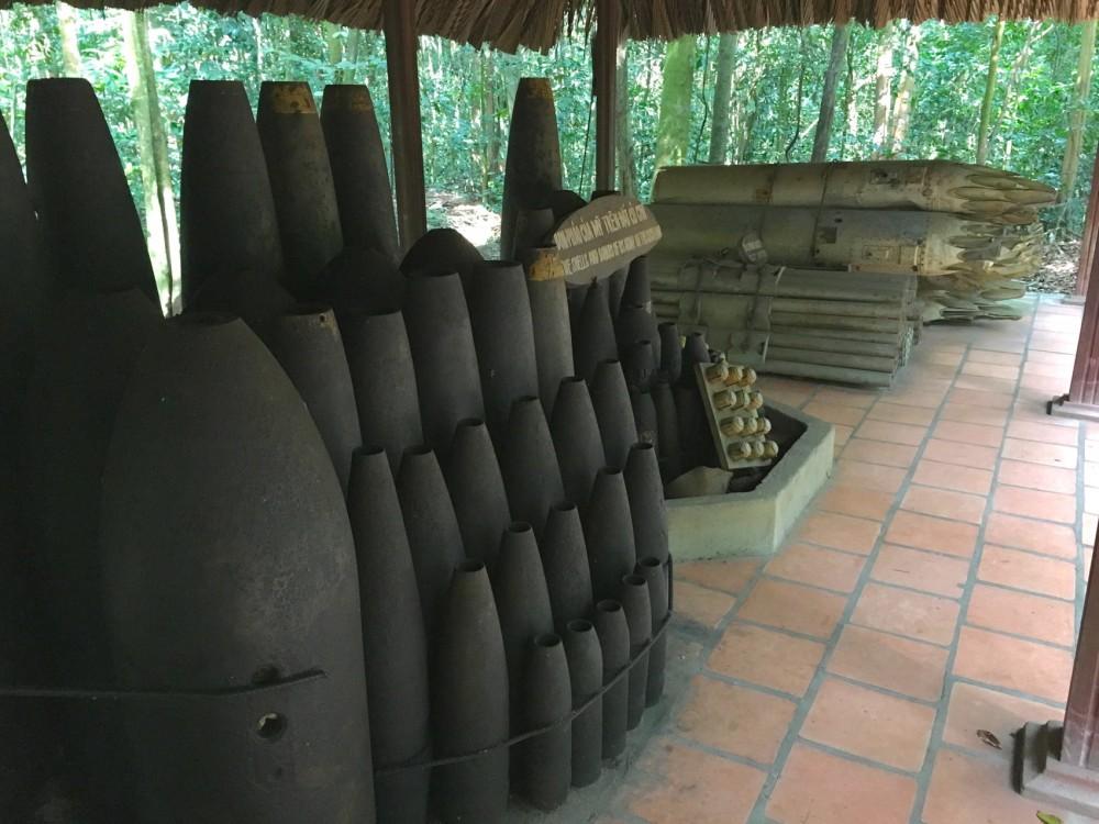 тоннели Кути (Cu Chi tunnels)