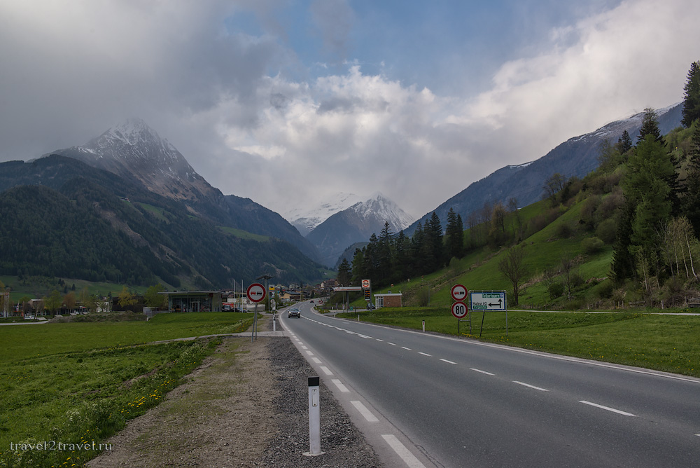 из горнолыжной Австрии в пляжную Хорватию через Альпы