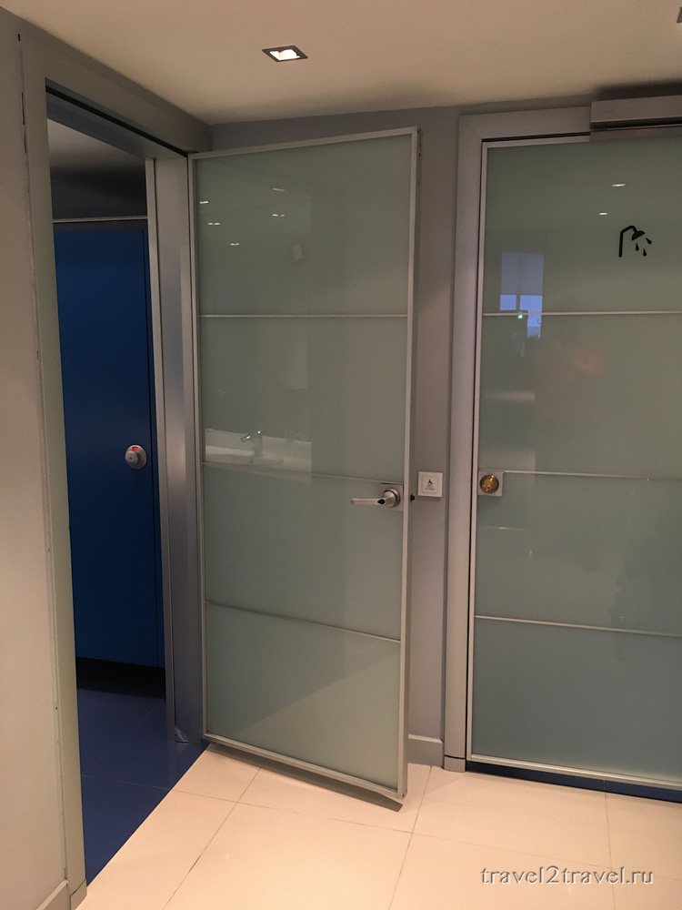 Priority Pass Домодедово S7 Business Lounge Туалет и Душевая