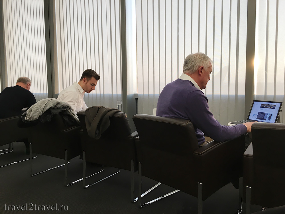 Бизнес-зал Air Lounge в международном аэропорту Вены Швехат (VIE)