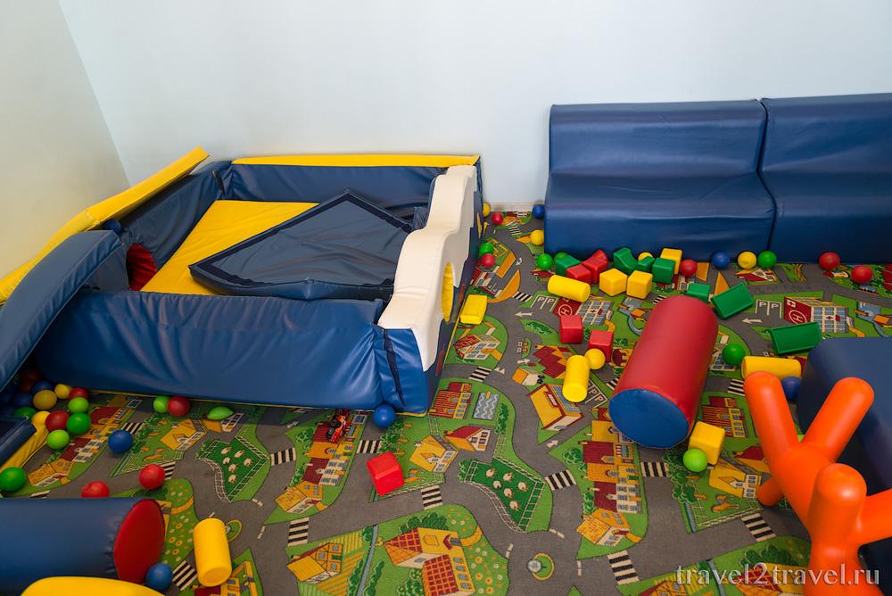 детская комната в бизнес-зале Галактика