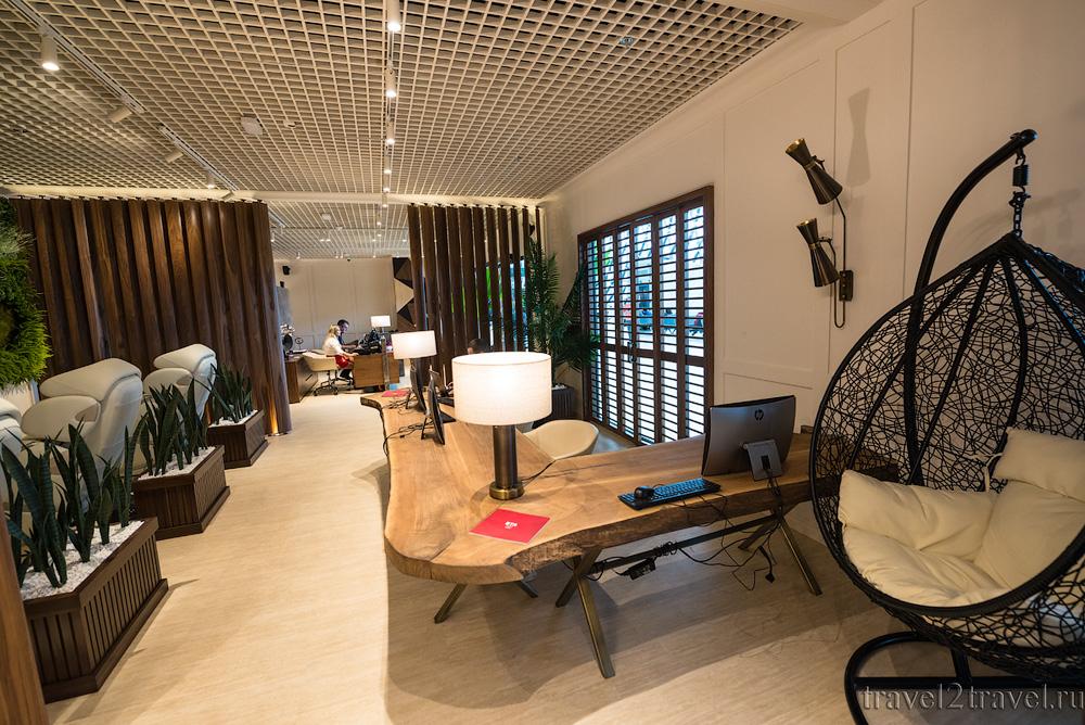 Бизнес-зал Primeclass Lounge в аэропорту Загреба, зона отдыха