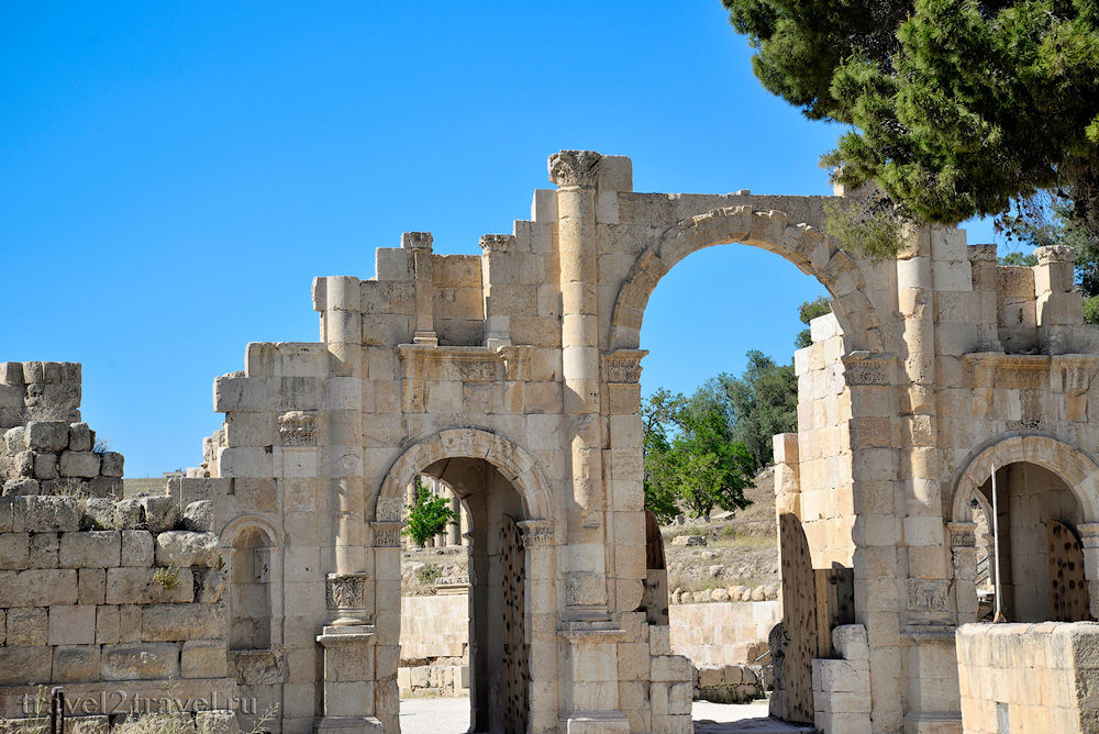 Арка Адриана Джераш (Jerash)