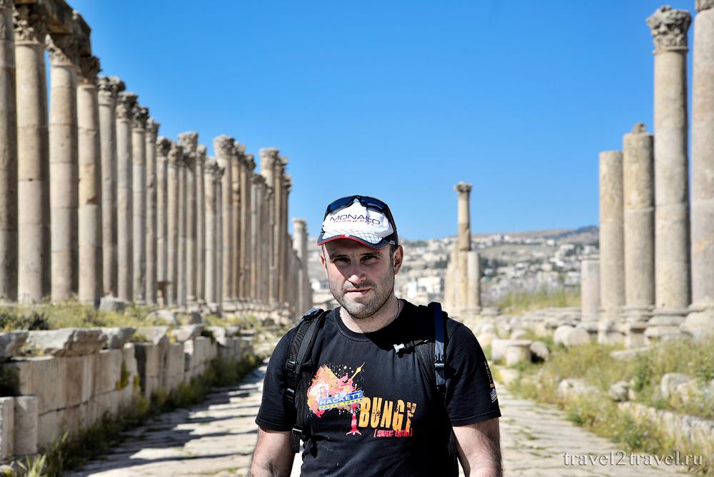 Джераш (Jerash, Jordan) - Путешествие в Иорданию