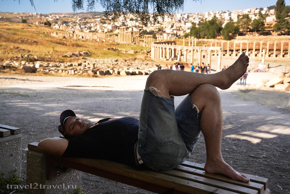 отдых Джераш, Иордания (Jerash, Jordan)