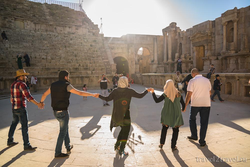 Южный амфитеатр Джераш (Jerash)