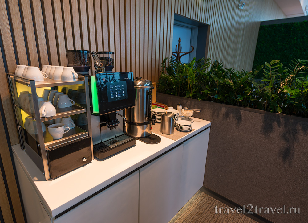 кофе и чай бизнес-зал S7 business-lounge