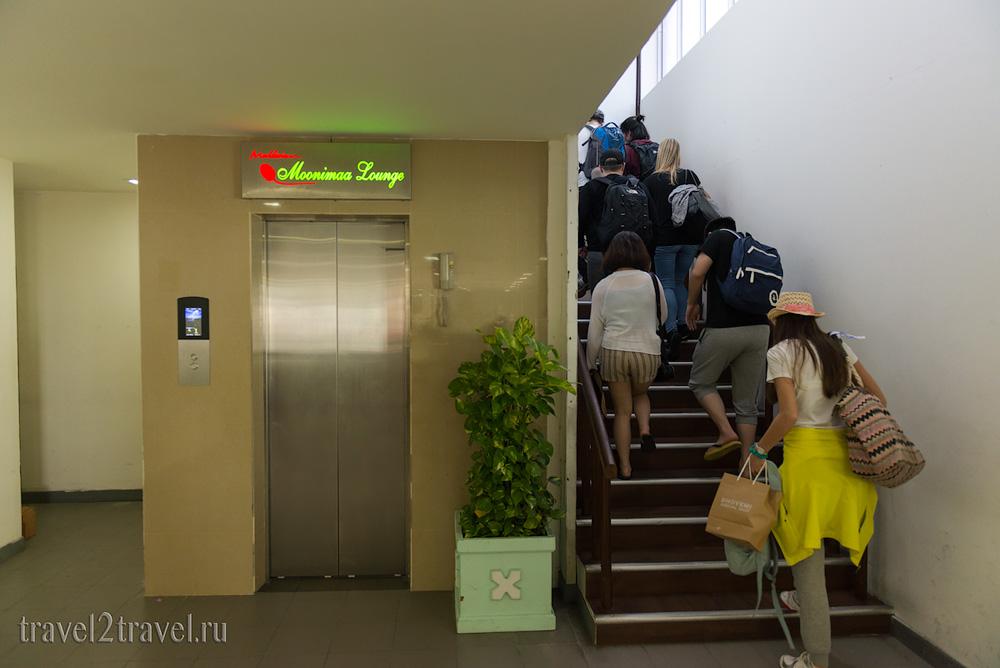 расоложение бизнес-зала в Мале Moonimaa Priority Pass внутренние рейсы, Мальдивы