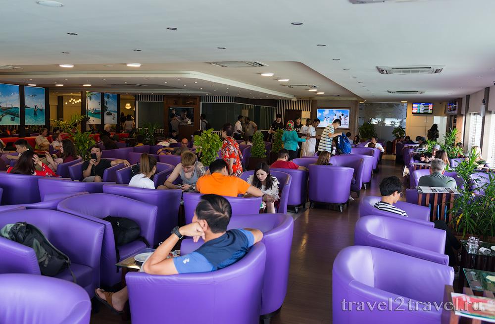 бизнес-зал в Мале Moonimaa Priority Pass внутренние рейсы, Мальдивы