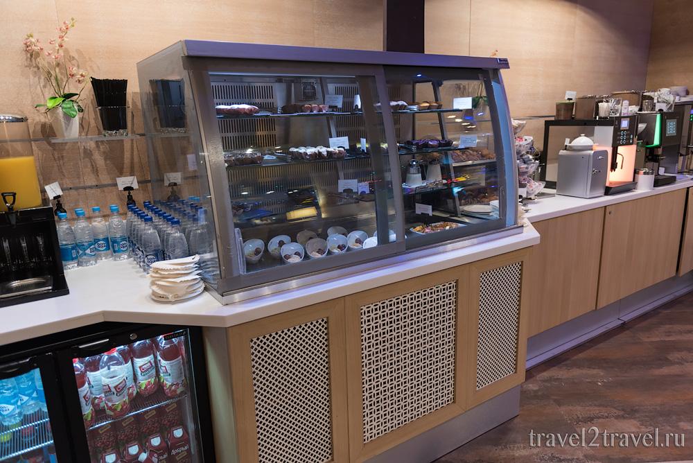 питание и напитки бизнес-зал Джаз (Jazz Lounge) в Шетеметьево терминал D