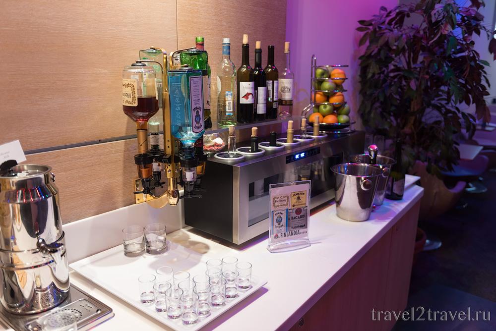 алгогольные напитки бизнес-зал Джаз (Jazz Lounge) в Шетеметьево терминал D