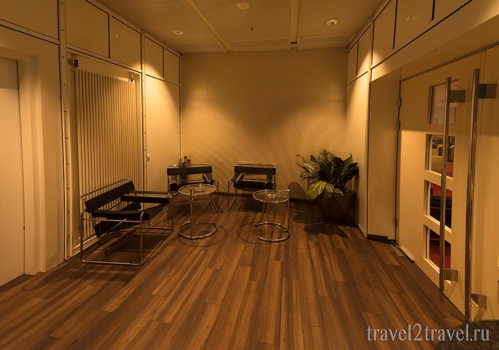 курилка в бизнес-зал в Мюхнене Atlantic Lounge