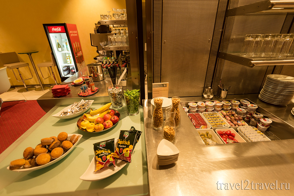 питание в бизнес-зал в Мюхнене Atlantic Lounge