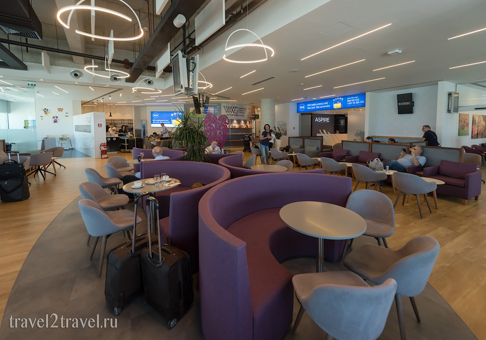 Бизнес-зал в Ларнаке Aspire Lounge, Кипр, лаунж, vip-зал, аэропорт